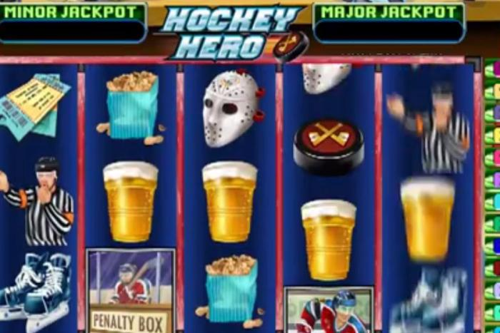 Eishockey slots Hockey Hero